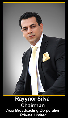 Rayynor Silva Managing Director Asia  Broadcasting Corporation (Pvt) Ltd.